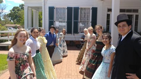 Students Participate in Annual Historical Gathering