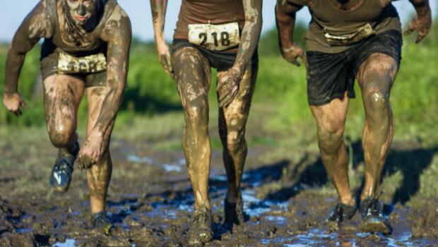 Cross+Country+Prepares+for+Mud+Run