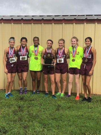 Cross Country Runs Away with District Win