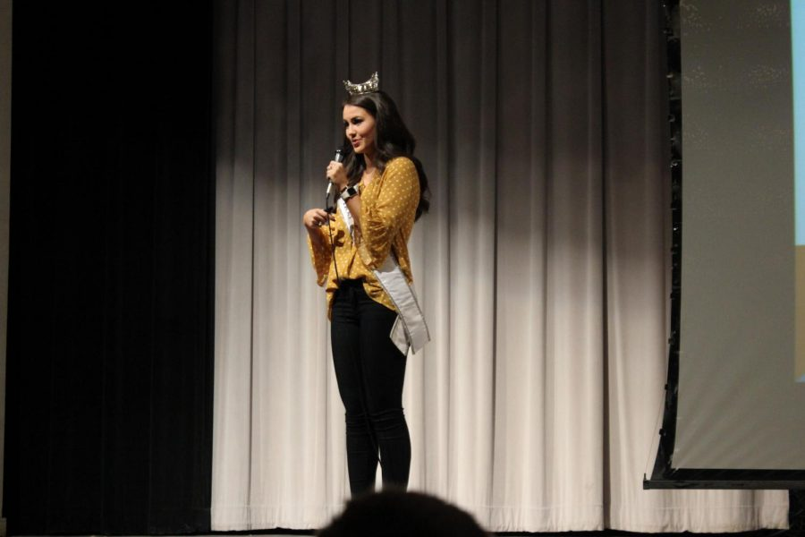 Miss Texas Speaks