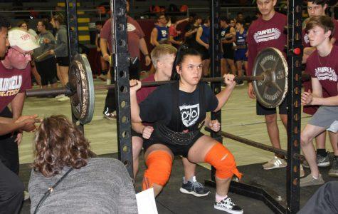 Powerlifting to lift Saturday