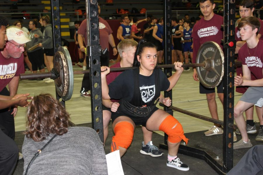 Powerlifting to lift Saturday