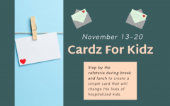 Family and Community Services Classes to Send Cards to Hospitalized Kids