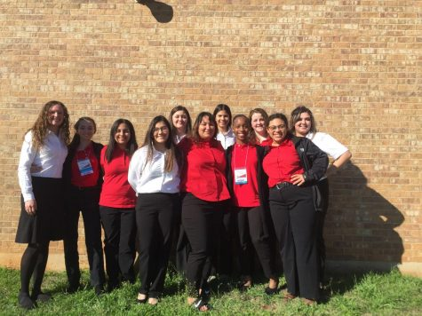 The FCCLA advancing group. Photo contributed by FCCLA.