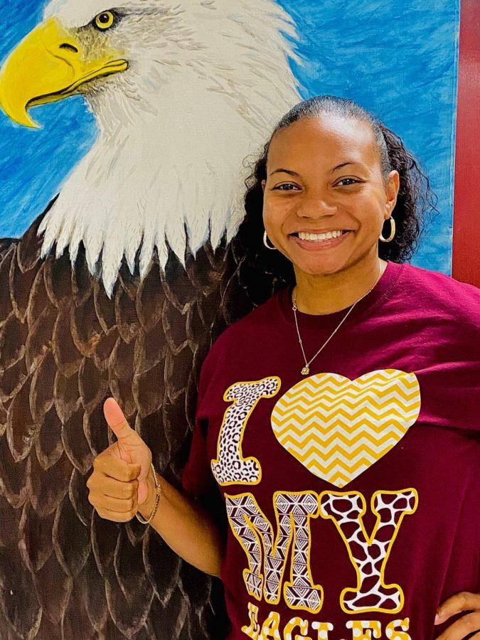 New+Life+Skills+teacher+Christy+Gillian+shows+her+Eagle+Spirit.