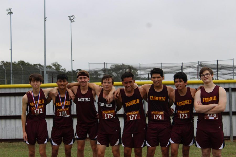 Cross Country Wins District