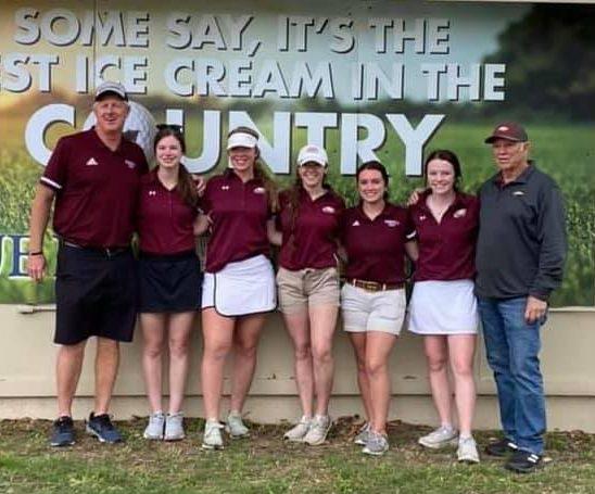 Senior Golfs at State