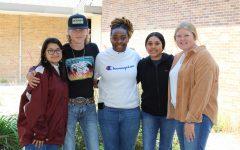 The senior class elects five students as class officers.